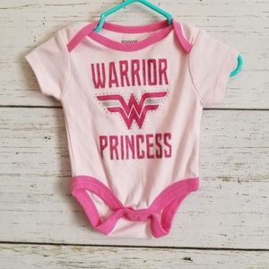 Other - Wonder Woman T-shirt 0-3m